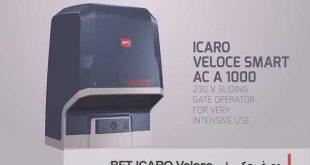درب اتوماتیک ریلی BFT ICARO Veloce
